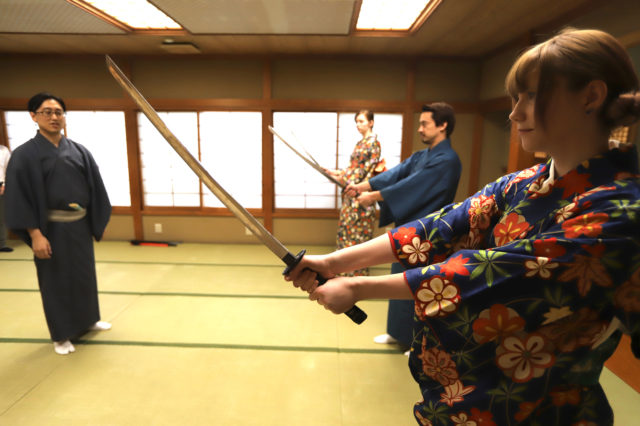 """""""Tachimawari"""" Lesson 7"""